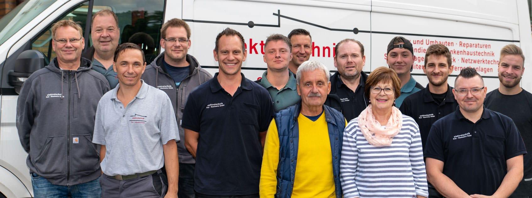 Elektrotechnik Pink - Staniewicz Teamfoto